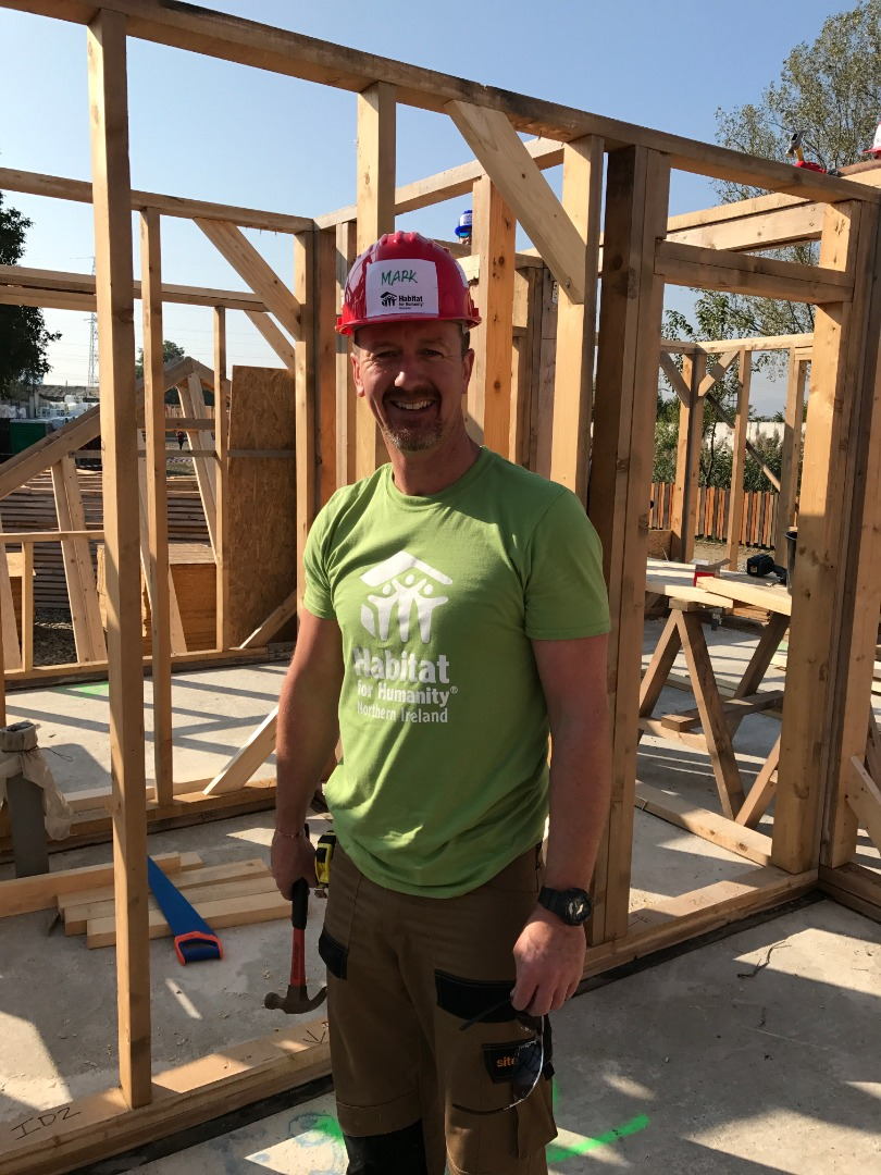 New Board Chair Mark Emerson on-site at Big Build 2017